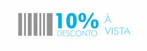 10% DESCONTO A VISTA